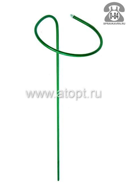 Опора для растений для комнатных металлическая для вьющихся растений труба 1.35 м 10 мм 300 мм Россия