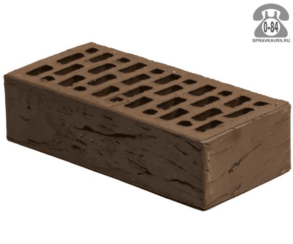 Кирпич лицевой Braer Front Brick М150 одинарный 250х120х65мм