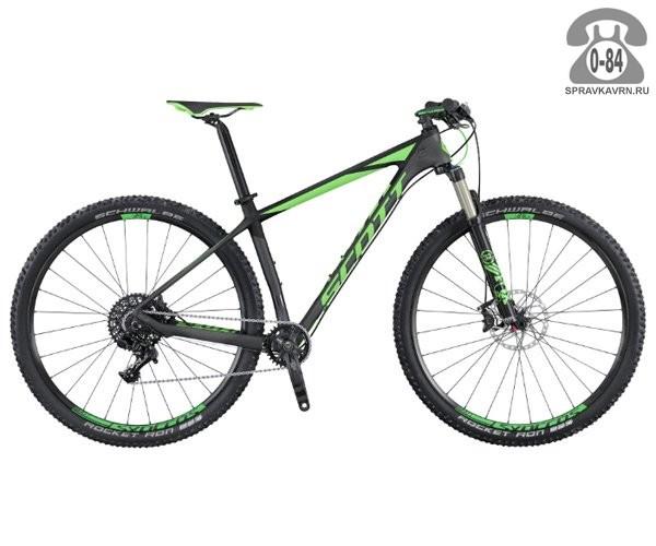 """Велосипед Скотт (Scott) Scale 920 (2016) размер рамы 20.5"""" черный"""