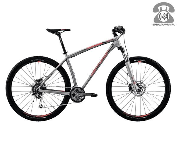 "Велосипед Центурион (Centurion) Backfire Pro 200.29 (2017) размер рамы 21.5"" серый"