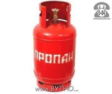 Баллон для газа пропан-бутан (бытовой) 12 л металл
