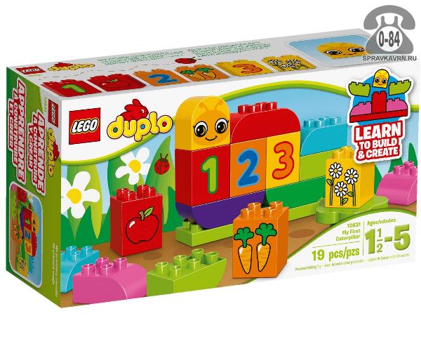 Конструктор Лего (Lego) Duplo 10831 Моя первая гусеница, количество элементов: 18
