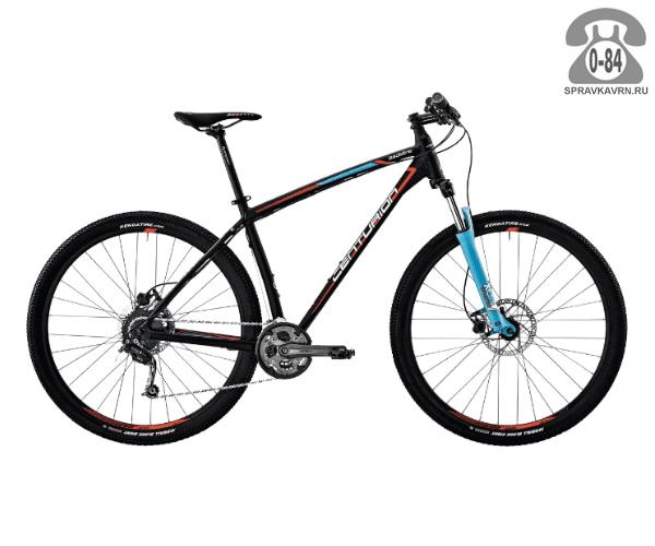 """Велосипед Центурион (Centurion) Backfire Pro 100.29 (2017) размер рамы 21.5"""" черный"""