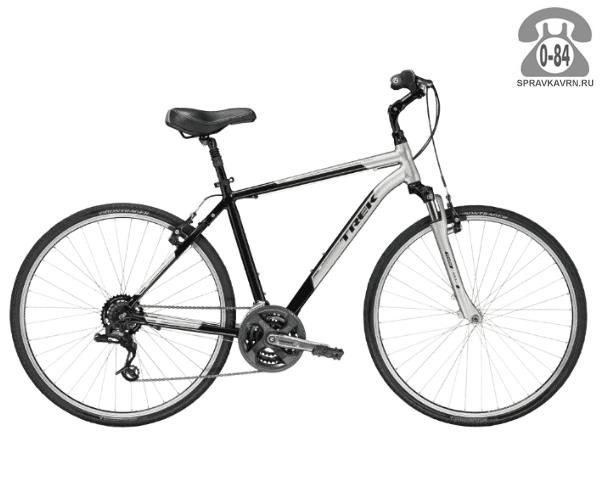 """Велосипед Трек (Trek) Verve 2 (2016), рама 18"""", серый размер рамы 18"""" серый"""