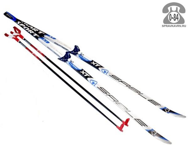 Лыжи Сабле (Sable) беговые 180 см прогулочные универсальный деревянный