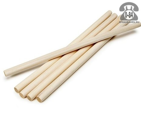 Черенок деревянный 36 мм 1200 мм для лопаты высший шлифованная Россия