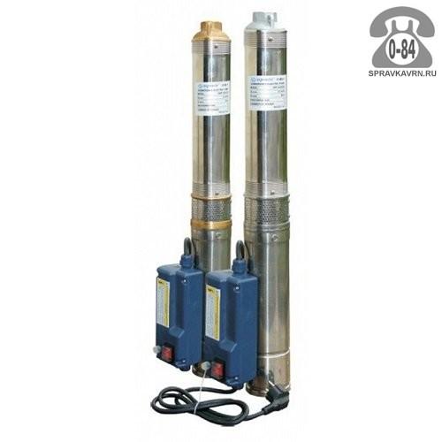 Насос водяной для скважины и колодца Акварио (Aquario) ASP 1.5C-40-75