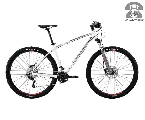 "Велосипед Центурион (Centurion) Backfire Pro 400.27 (2017) размер рамы 19.5"" белый"