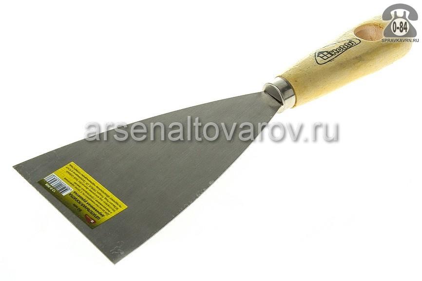 шпатель малярный стальной 80 мм Хобби (12-0-008)