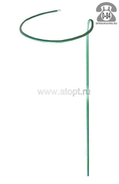 Опора для растений для комнатных металлическая для вьющихся растений труба 0.75 м 10 мм 400 мм Россия