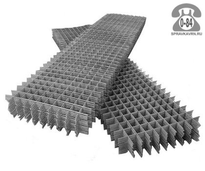 Сетка строительная сварная кладочная сталь неоцинкованная