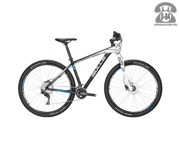 "Велосипед Буллс (Bulls) COPPERHEAD 29 LT (2016), синий размер рамы 16.5"" синий"
