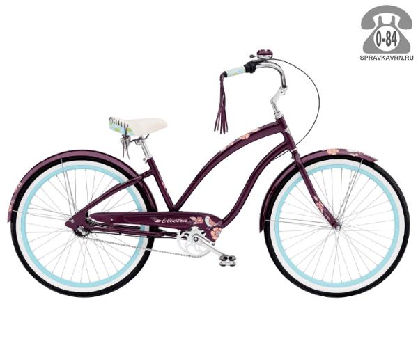 Велосипед Электра (Electra) Cruiser Wren 3i Ladies (2016)