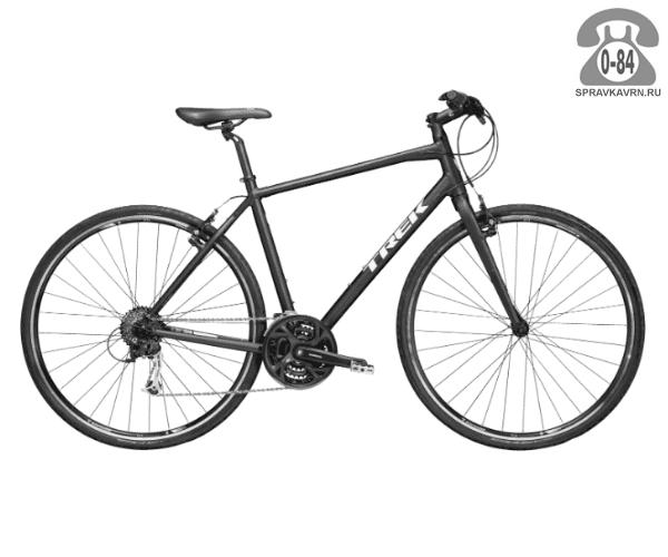 """Велосипед Трек (Trek) 7.3 FX (2016), рама 18"""" размер рамы 18"""" черный"""